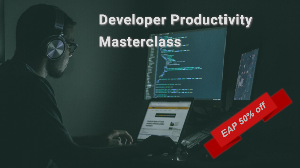 Developer Productivity Masterclass 50% off